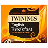 Twinings English Breakfast Tea Bags 100 pro Packung