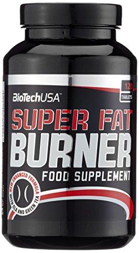 Biotech USA Super Fat Burner 120 Tabletten, 1er Pack (1 x 216 g)