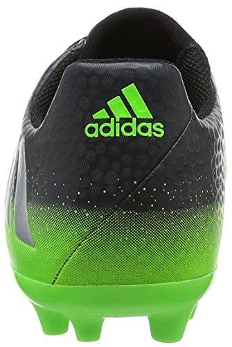 adidas Jungen Messi 16.3 Ag J Fußballschuhe Grau (Dark Grey/Silver Met./Solar Green)