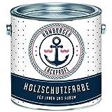 Holzschutzfarbe Schwedenrot Wetterschutzfarbe Aussen // Hamburger Lack-Profi (5 L)