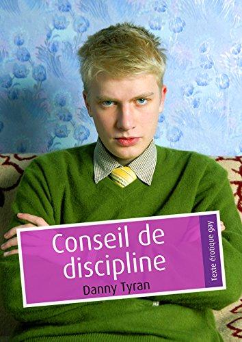 Couverture du livre Conseil de discipline (pulp gay)