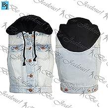 Jeansjacke damen ohne armel