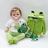 Pursue Baby Brad, 20 Zoll Sammlerstück lebensechte Baby Mädchen Puppe