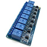 AptoFun 8 channel relay board module for Arduino Raspberry Pi ARM AVR DSP PIC (8 channels)