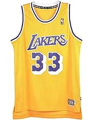 adidas Herren La Lakers Abdul-Jabbar Swingman Basketballtrikot Nba Trikots