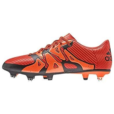 adidas Performance  X15.3 SG, Chaussures de Football homme - Rouge - Rot (Bold Orange/Ftwr White/Solar Orange), 41 1/3