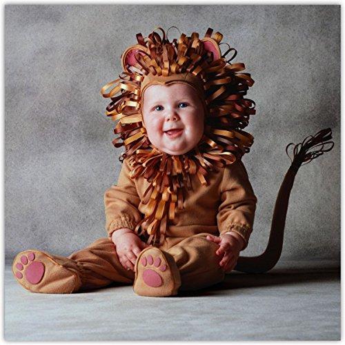 Löwe Kostüm Tom Arma für Babys - 6-12 (Arma Tom Kostüm)