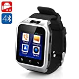 SMARTWATCH ZGPAX S8 OROLOGIO TELEFONO ANDROID 4.4 KIT KAT 3G DUAL CORE LCD 1.54' RAM 512MB ROM 4GB (COLORE ARGENTO)