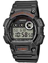 CASIO W-735H-8AVEF - Reloj digital de cuarzo con correa de resina para hombre, color marrón