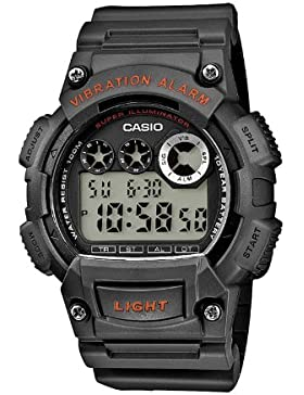 Casio Collection – Herren-Armbanduhr mit Digital-Display und Resin-Armband – W-735H-8AVEF