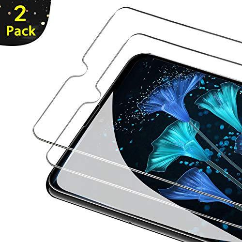 FUMUM Huawei Mate 20 Folie, Premium 9H HD Schutzfolie für Huawei Mate 20 (16,23cm) Schutzglas [Anti Fingerabdruck] Bubble-frei-2 Pack