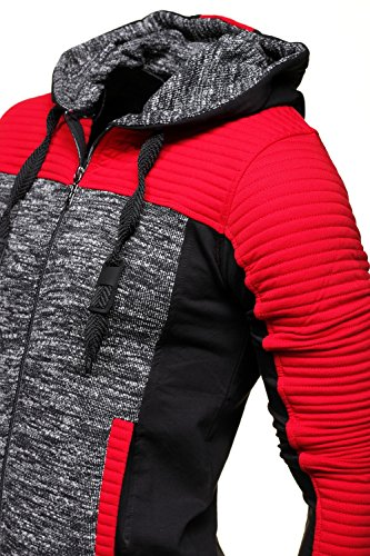 Max Way - Gilet 4729 Rouge Rouge
