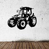 ALLDOLWEGE Schlafzimmer Wohnzimmer Wand Dekoration Aufkleber Traktor 58 * 73 CM