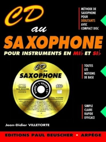 Partition : CD au saxophone