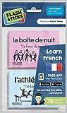 flashsticks Klebe-Notizzettel zum französischlernen mittel ein Home, Zeit & Freizeit