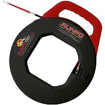 Runpotec Runpo 10014 - Guía pasacables triple trenzado con carcasa, 5,3 mm (