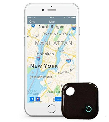 Mokiro Anti perdida Mini Localizador y rastreador Alarma para buscar o perseguir carteras/ monedero/niños/mascotas/llaves/ teléfono/ perros para iOS/Android con Bluetooth