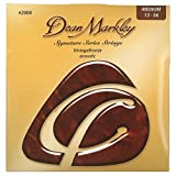 Dean Markley 2006A VintageBronze Acoustic Jeu de cordes pour guitare folk Tirant medium .013 -.058