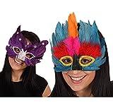 Atosa  - B/s Mascara de Plumas Colores surtdo 10 Color