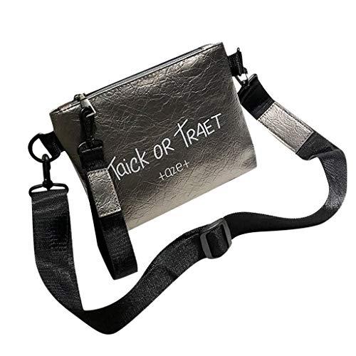 Mitlfuny handbemalte Ledertasche, Schultertasche, Geschenk, Handgefertigte Tasche,Frauen-modische Linie Beschaffenheits-Schulter-Beutel-Mädchen-Normallack-Buchstabe-Freizeit-Handtasche