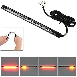 PR LED Strip Tail Light Turn Signal Brake Indicator-Tata Sumo