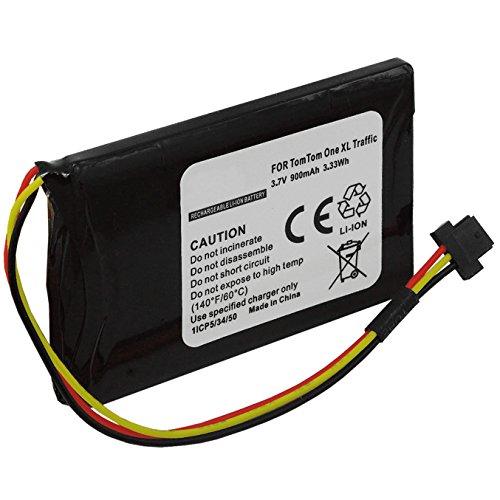 Batterie pour TomTom One XL, XL 340(S), XXL / One XL 30... / XL Live, Holiday, IQ… - voir liste!