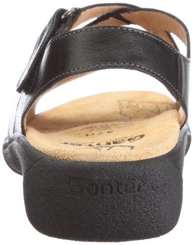 Ganter Hera Weite H 1-205851-0100, Sandales mode femme Noir - V.6