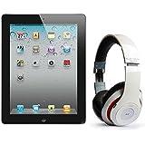 Pack iPad 2 16Go Wifi 3G Noir avec casque Bluetooth Blanc