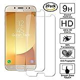 [2 Pack] Guran® Pellicola Protettiva ultra Resistente in Vetro Temperato per Samsung J7 2017 DUOS Smartphone Ultra Sottile Screen Protector Film