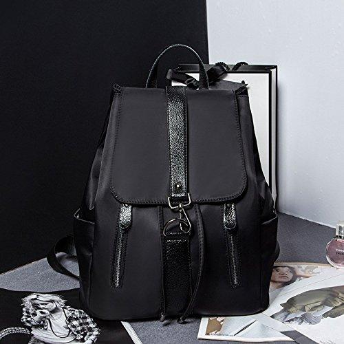 una nuova borsa di cuoio signore lo zaino,black black