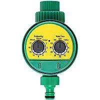 Wenquan,Temporizador de riego riego Controlador Inteligente de hogar y Jardin(Color:Amarillo)