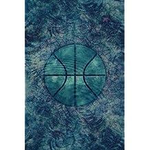 Monogram Basketball Notebook: Blank Journal Diary Log (Monogram Water 150 Lined)