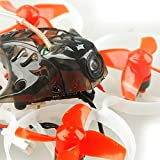 FEICHAO Happymodel Mobula7 75mm Crazybee F3 Pro OSD 2S Whoop FPV Racing Drone w / Upgrade BB2 Kompatibel mit Frsky Flysky DSM2 / DSMX Empfänger ohne Fernbedienung (Standard Version, Frsky EU-LBT) Vergleich