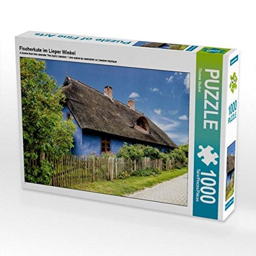 Preisvergleich Produktbild Fischerkate im Lieper Winkel 1000 Teile Puzzle quer