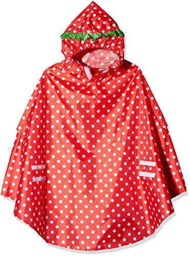LUNARI Unisex- Erwachsene Lucky Cape Regenschutz, Rot, One Size