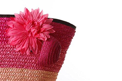 Flada, Borsa a mano donna rosa Rosy 1 medium Darkblue