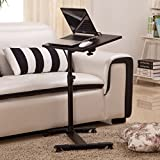 Egab Laptop Adjustable Portable Table Desk Stand Lap Sofa Bed Tray Computer Notebook