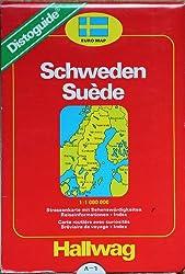 La Suède. Distoguide 1/ 650 000