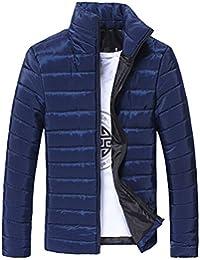 Bealeuy Herren Winterjacke Jacke aus hochwertiger Materialqualität Männer Baumwollstandplatz Reißverschluss warme Winter dicke Manteljacke