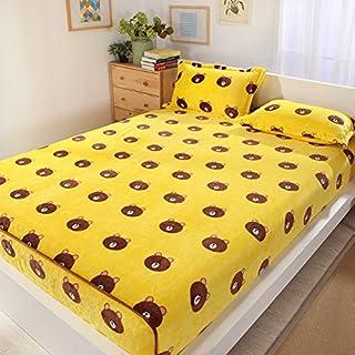 FHFGHYURBNYFGHFBY Dicker Bett und einzelstück/schützende hülle für warme blätter/Slip matratze/matratzenbezug/Haushalt/bettwäsche-R 120x200cm(47x79inch)