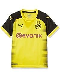 Puma BVB Replica, Camiseta Internacional del Borussia Dortmund para Niño, Amarillo (Cyber Yellow-Puma Black),…
