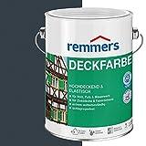 Remmers Deckfarbe Farbton Anthrazitgrau Größe L 10l 3624
