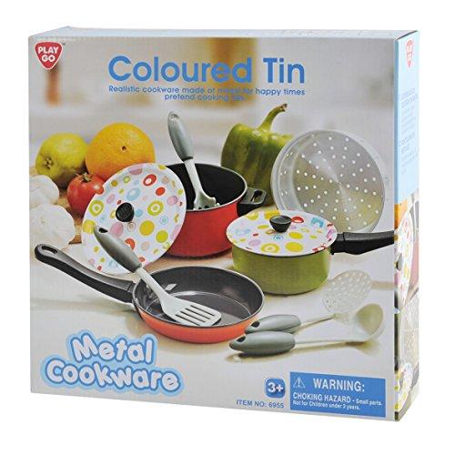 Playgo 6955 - Cookware Set, Kitchen Toys