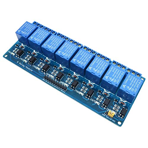 Electrely Módulo Relé 8 Canales Optoacoplador DC