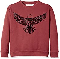 RED WAGON Boy's Graphic Sweat, Red, 8 Years
