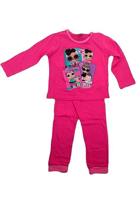 Pijama LOL Surprise Algodón Fucsia (4/5 años): Amazon.es: Ropa
