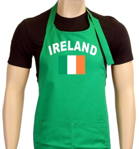 Coole Fun T-Shirts Uni Em 2012 Tablier de barbecue, vert, taille unique