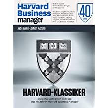 "Harvard Business Manager Edition 4/2019 ""Harvard-Klassiker"""