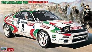 Hasegawa 020401 1/24 - Maqueta de Toyota Celica Turbo 4WD, 1993 Monte Carlo Rally