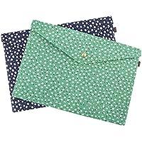 ebdfd53114 2 pcs Fundas para carpetas camisas bolsa de fchier almacenamiento portátil  fieltro con